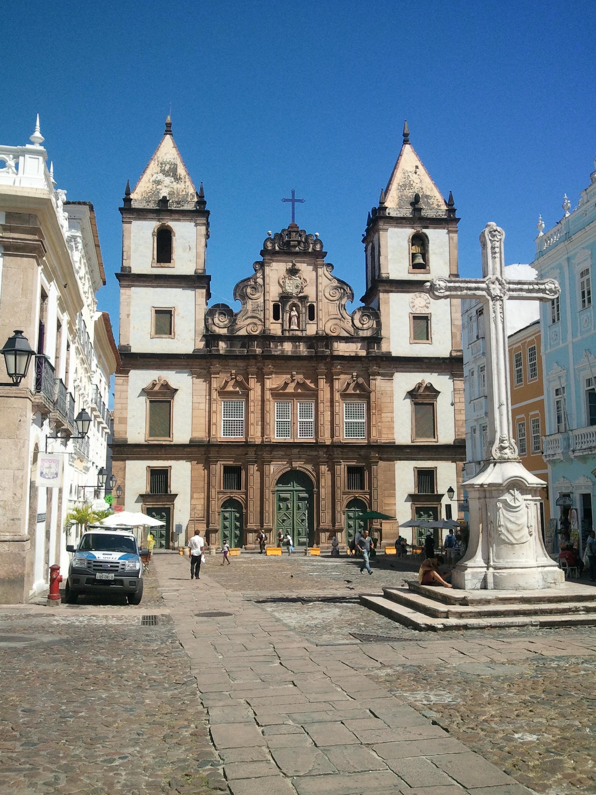 Church and Convent of São Francisco Salvador Bahia ...