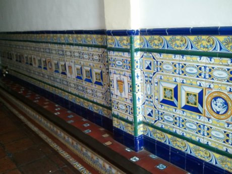 ... beautifully tiled