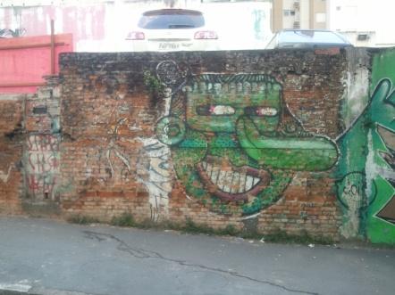 Street art, Rua Cardeal Arcoverde ...