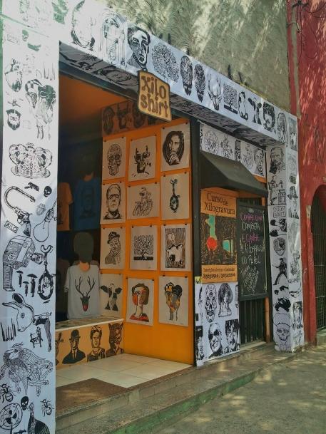 Xilo Shirt shopfront, Rua Cardeal Arcoverde, Sao Paulo