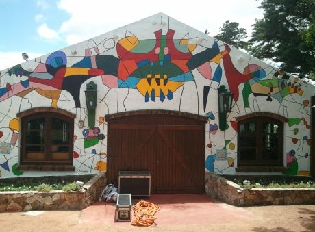 Festival entrance, Swing Street, Punta Ballena