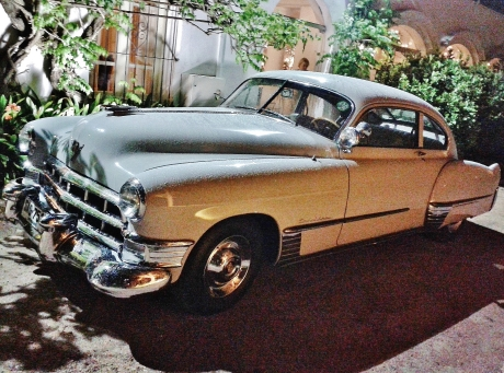 1949 V8 Cadillac, Montevideo 2014