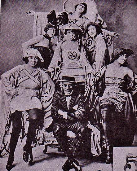 Cast of Shuffle Along 1921