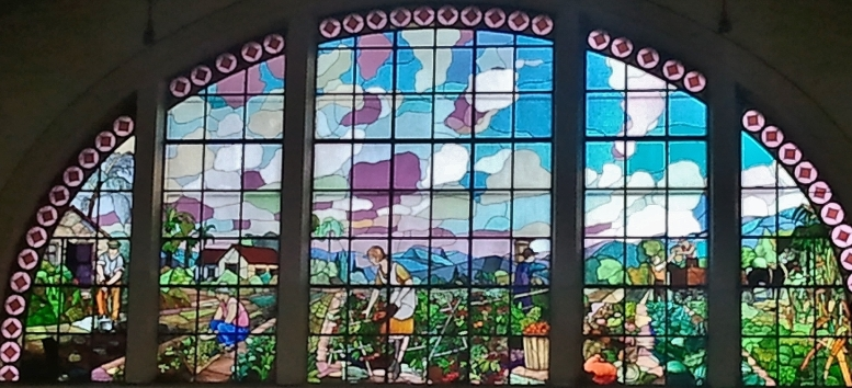 Themed stained glass