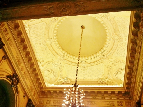 Beautiful stuccoed ceiling