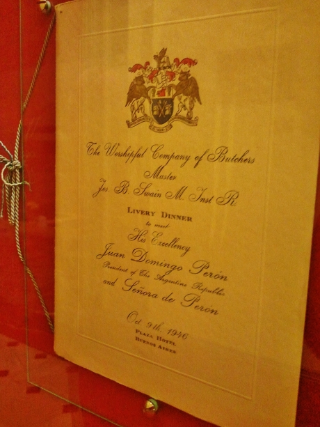 London livery company dinner 1925 - note guests of honour