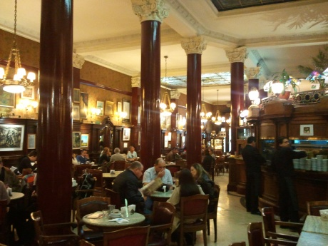 Cafe Tortoni on Avenida de Mayo