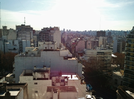 View over Caballito