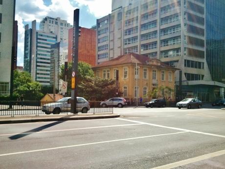 Corner site - listed building?