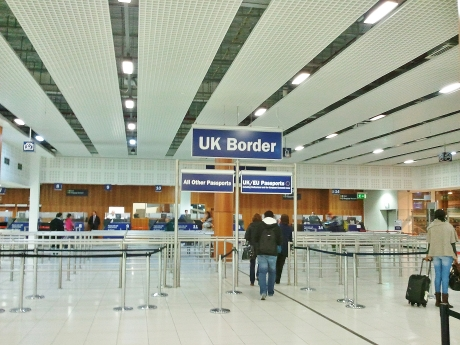 Welcome to the UK, Birmingham International Airport