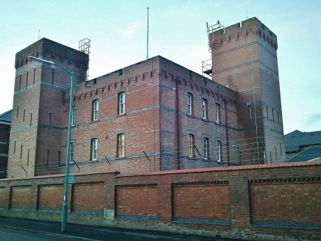 Copthorne Barracks, Shrewsbury, 1878