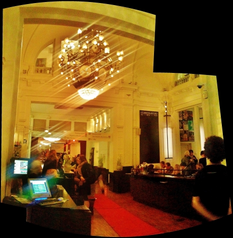 Café and foyer of the Stadsschouwburg
