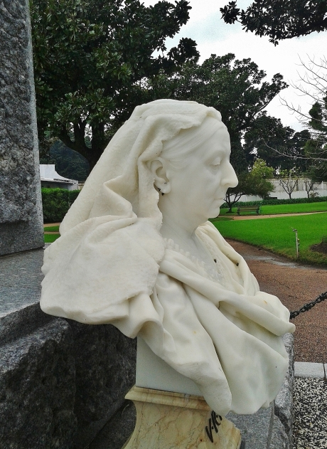 A strong portrait in fine statuary marble