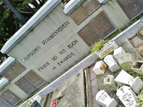 Post-War burials continue
