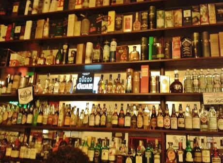 A wide range of bebidas